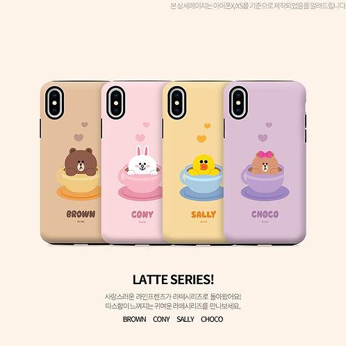 Line Friends Guards Up Brown Latte Series Case