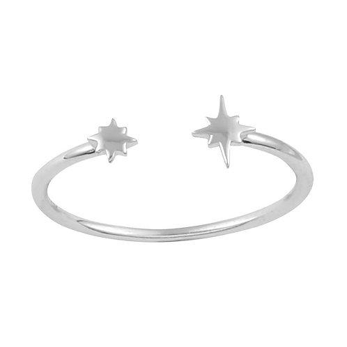 Celestial Sterling Silver Ring