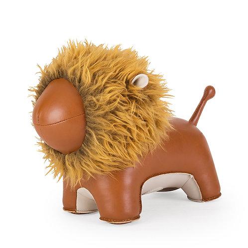 Zuny Doorstop Lion Tan