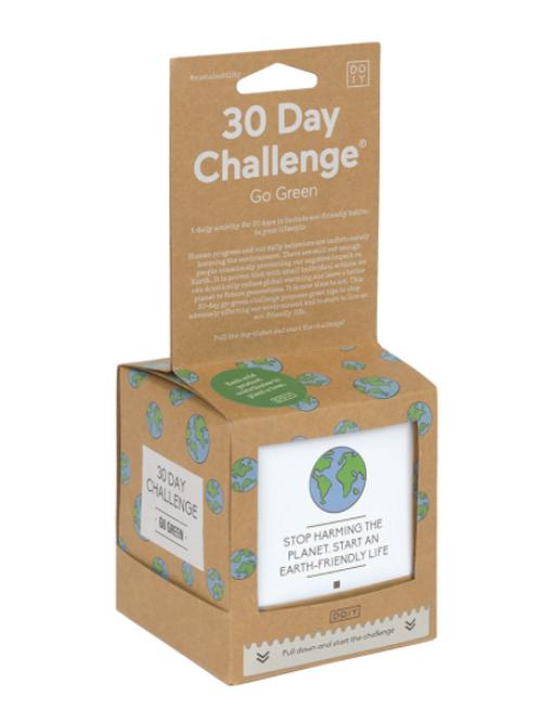 DOIY 30 Day Challenge - Go green