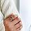 Thumbnail: Big Warm Heart Crystal Ring - MOOII