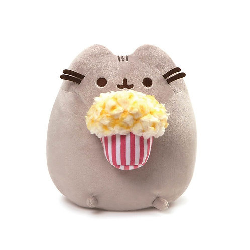 Pusheen Snackable Plush : Popcorn