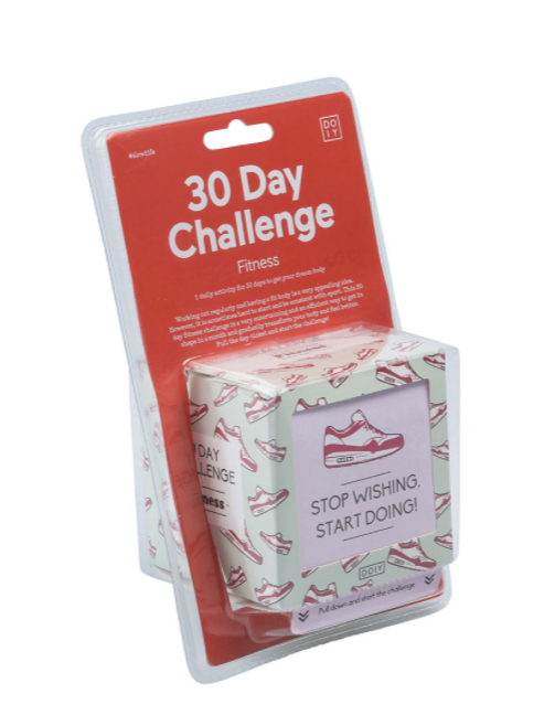 30 Day Challenge Activity Box DOIY (Fitness)