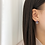 Thumbnail: MOOII Crystal Tear Drop Earring