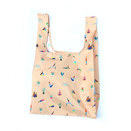 Kind Bag: Reusable Bag Medium Yoga Girls