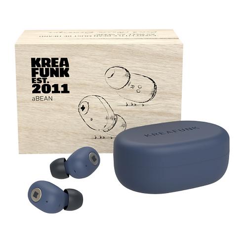 Kreafunk Abean In Ear Wireless Headphones -  Midnight Blue