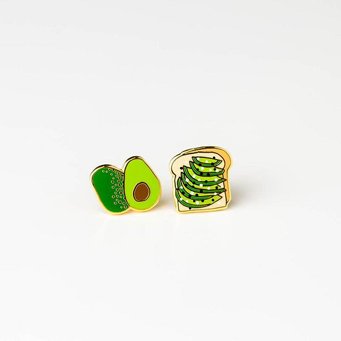 Yellow Owl Workshop Avocado Toast Earrings