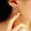 Thumbnail: Asymmetric Dream Catcher Drop Earring - MOOII