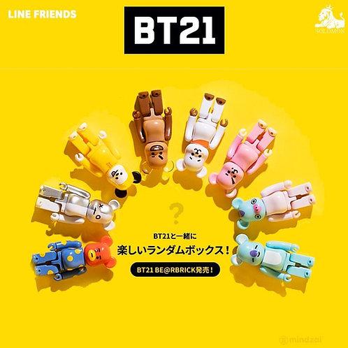 BT21 X BE@RBRICK(BEARBRICK) Official 10pcs Set Limited Edition