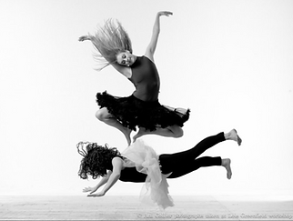 Ani Collier at the Lois Greenfield Workshop, NYC