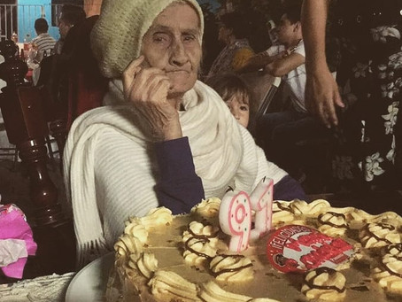 Alzheimer: los recuerdos de Candelaria.