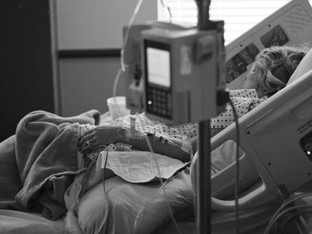 Mi mamá estuvo en coma y volvió a nacer.