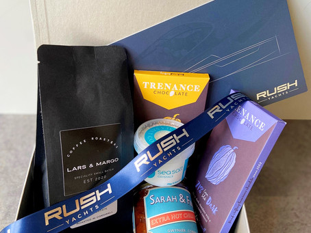 PRIZE TIME WITH THE RUSH YACHTS GREEN SURVEY