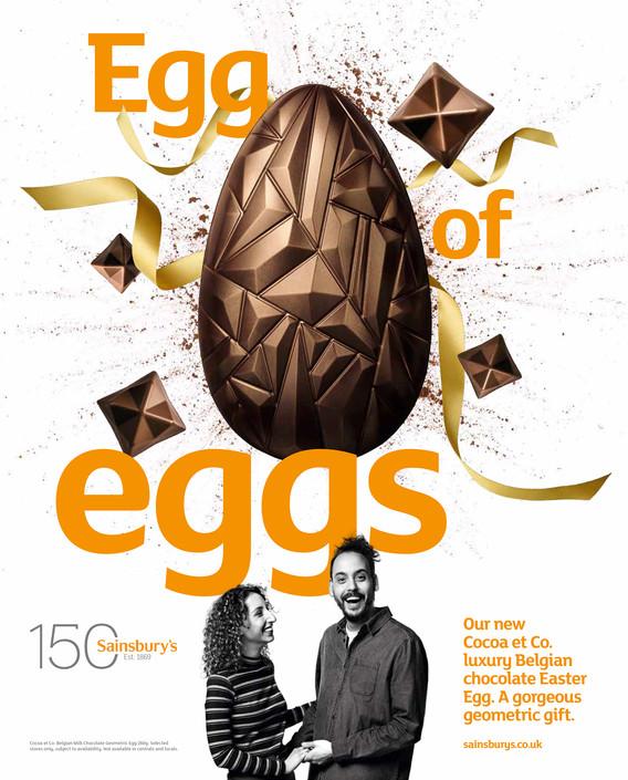 Sainsbury's Easter OOH Print Campaign