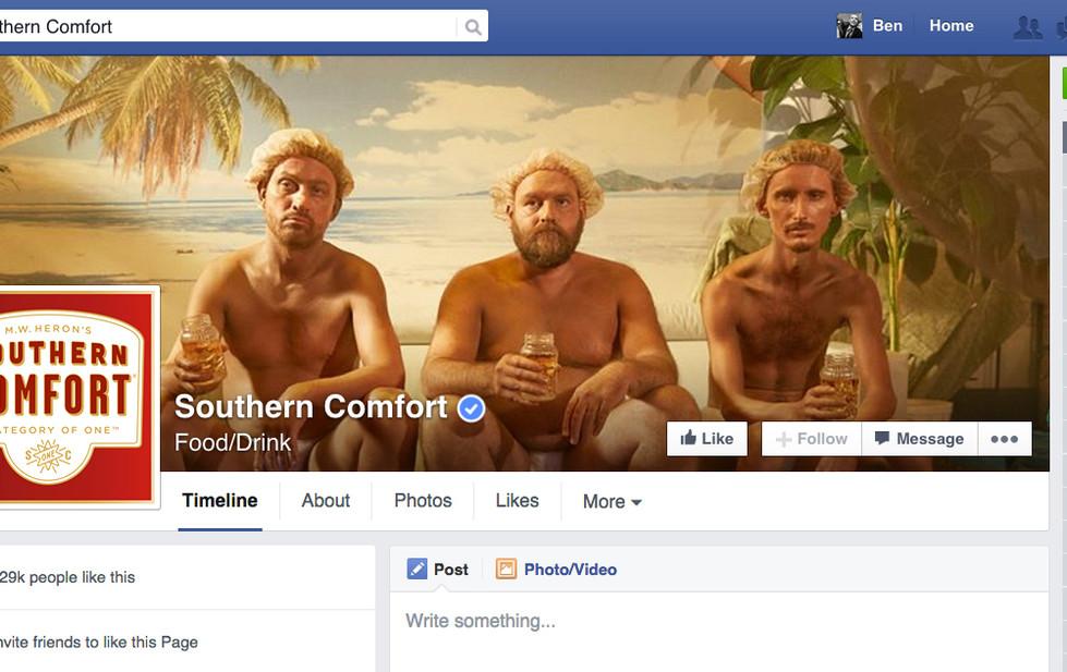 Southern Comfort Facebook