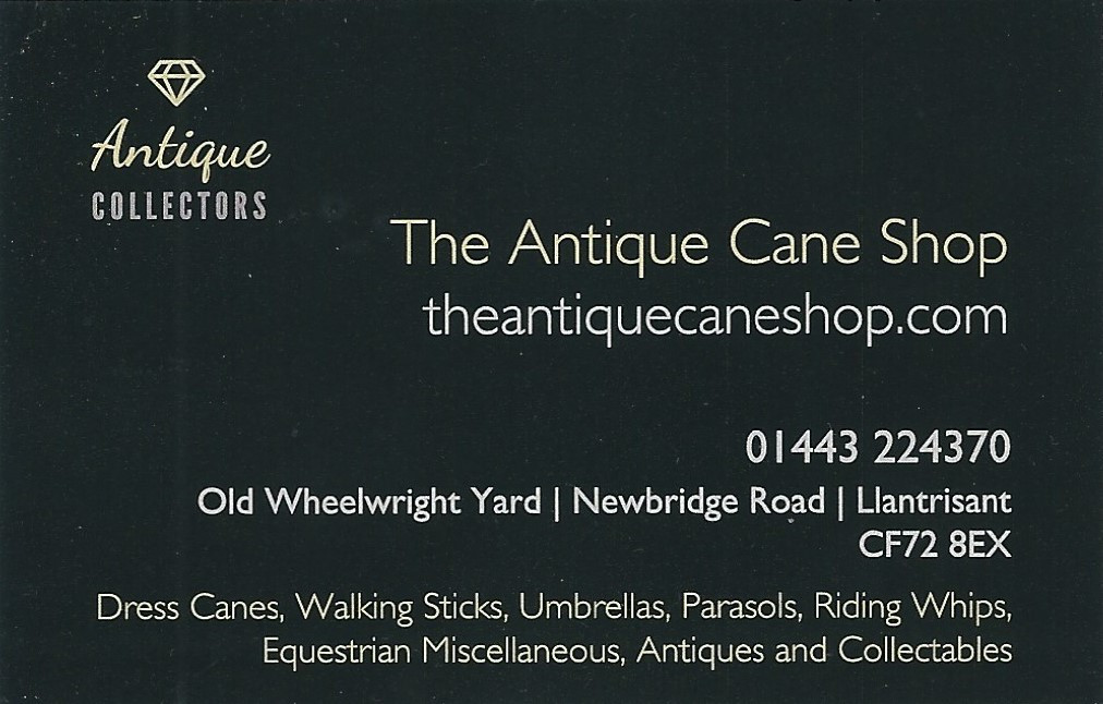 Antique Walking Canes And Sticks The