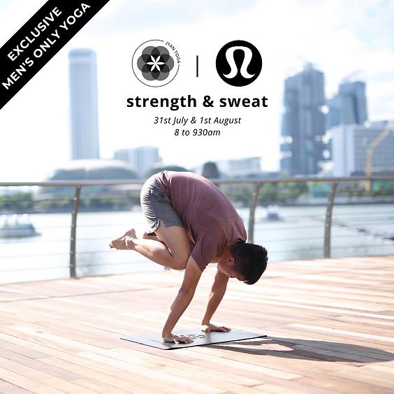 Strength x Sweat (Men's Only Yoga)