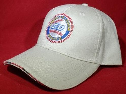 Americana Flag Sandwich Cap, Khaki