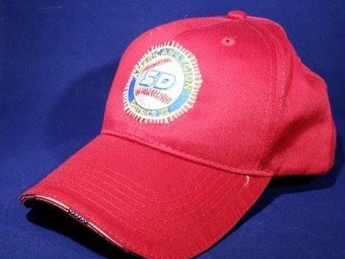 Americana Flag Sandwich Cap, Red