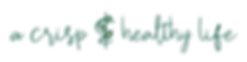 A Crisp & Healthy LIfe (clear)_alt logo