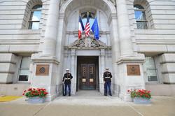 Ext. American Embassy Paris Set