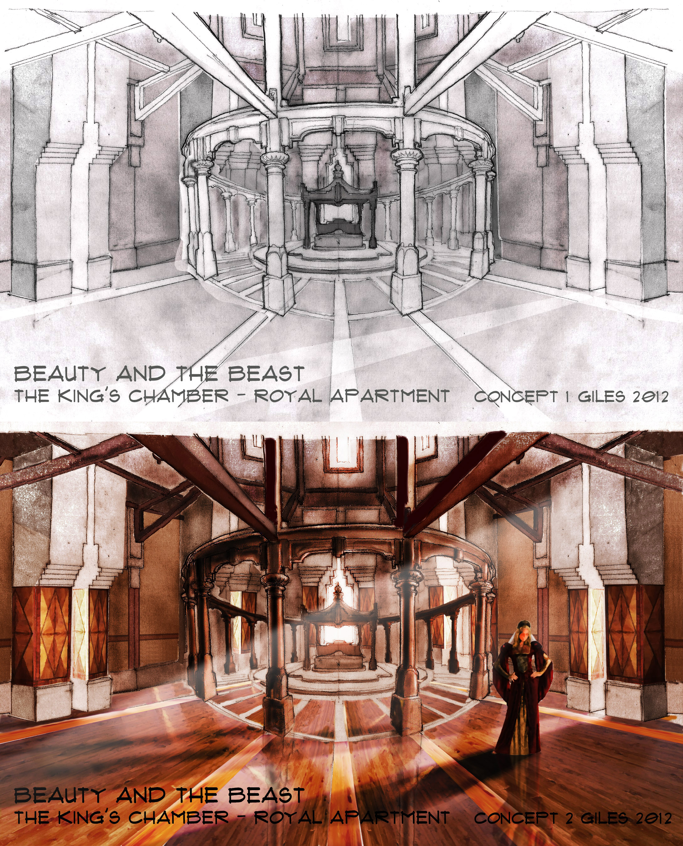 The King's Chamber Concepts