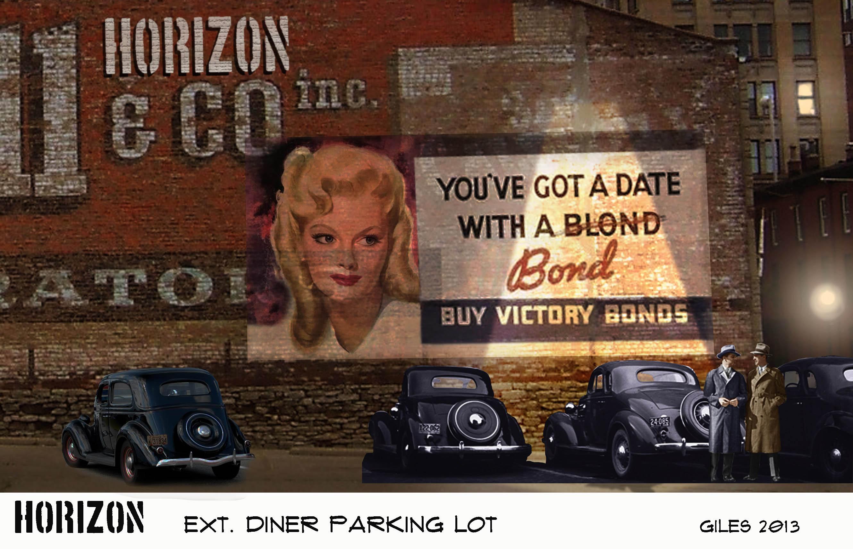 Diner Carpark Concept