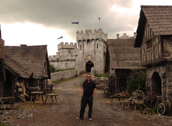 Giles Masters on the Castle & Court Village Set of 'The Basteard Executioner'