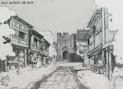 Castle & Court Village - Sketch