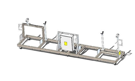 portable inspection bar