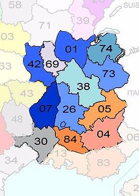 Rhone Alpes Sciage se déplace dans tout le quart sud est