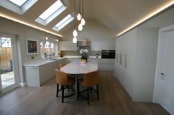Autumnwood Kitchens - Handless in custom colour - Marlow 1