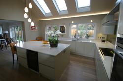 Autumnwood Kitchens - Handless in custom colour - Marlow 5
