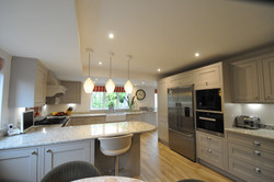 Autumnwood Kitchens - Solid Ash in frame shakerin Cashmere - Marlow 10