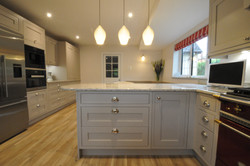 Autumnwood Kitchens - Solid Ash in frame shakerin Cashmere - Marlow 5