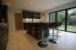Autumnwood Kitchens - Solid ash shaker in graphite - Penn and Tylers Green 4