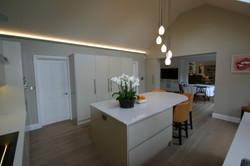 Autumnwood Kitchens - Handless in custom colour - Marlow 4