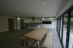 Autumnwood Kitchens - Handless in white gloss - Holmer Green 3