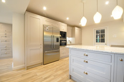 Autumnwood Kitchens - Solid Ash in frame shakerin Cashmere - Marlow 6