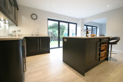 Autumnwood Kitchens - Solid ash shaker in graphite - Penn and Tylers Green 3