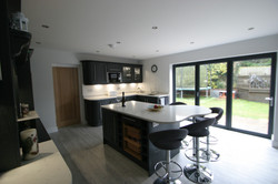 Autumnwood Kitchens - Solid ash shaker in graphite - Penn and Tylers Green 6