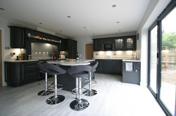 Autumnwood Kitchens - Solid ash shaker in graphite - Penn and Tylers Green 1
