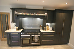 Autumnwood Kitchens - Solid ash shaker in graphite - Penn and Tylers Green 7