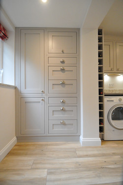 Autumnwood Kitchens - Solid Ash in frame shakerin Cashmere - Marlow 9