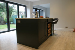 Autumnwood Kitchens - Solid ash shaker in graphite - Penn and Tylers Green 5