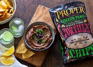 Proper Corn Chips_Low Res_Black Bean Dip