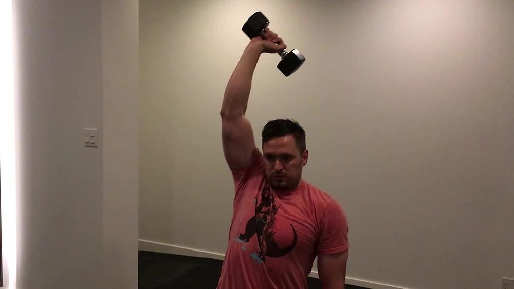 Exercises for triceps by Tatvabodh Arya