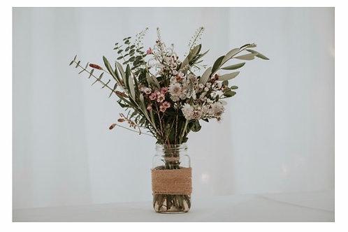 Jam Jar Flower Subscription