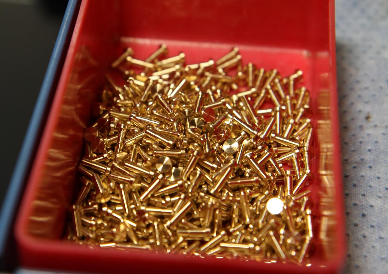 Tight Toleranced Brass Pin