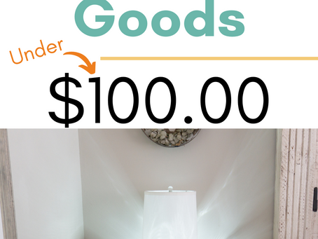 Your Practical Home Goods under $100.00 by Hello Betty Company